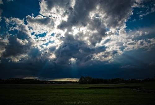 krajobraz chmury