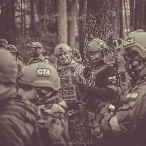 Żołnierze ASG w Tleniu